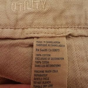 American Eagle Outfitters Pants - American Eagle Utility Button Up Pants